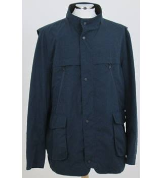 NWOT M&S Collection size: XXXL navy blue stormwear jacket