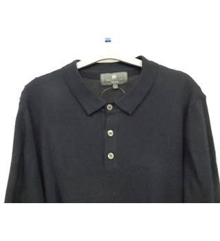 M&S Collection Men's Sweater size L M&S Marks & Spencer - Size: L - Blue - Sweater