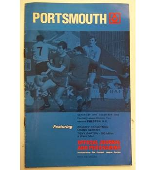 Portsmouth v Preston N.E. 6th December 1969