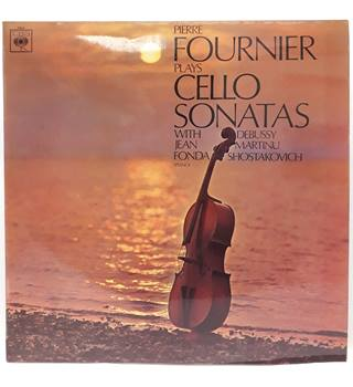 Pierre Fournier, Jean Fonda ‎– Sonatas For Cello & Piano Pierre Fournier, Jean Fonda - S BRG 72613