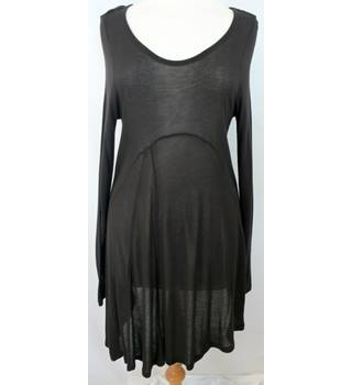 "Phase Eight - Size: 12 - Bust 32"" unstretched - Dark Brown - Ladies' Tunic Dress"