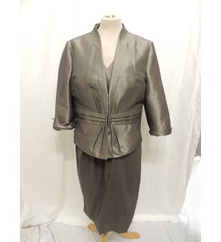 BNWT Alexon Formal Dress and Jacket (Ideal for Mother of the Bride) Alexon - Metallics - Knee length dress