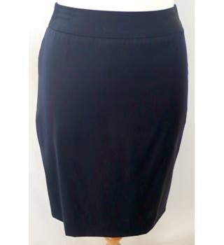 "Austin Reed - Size: 10 - Waist 26"" - Navy Blue - Ladies' Pencil Skirt"