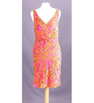 Monsoon Dress  - Size: 10 - Orange