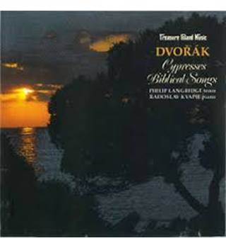 Dvorak Cypresses/Biblical Songs Dvorak, Antonin