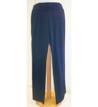 M&S - Size: 8S - Blue - Stretch trousers