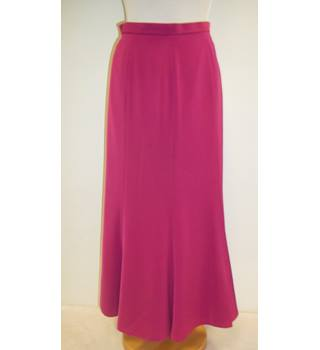 Jacques Vert - Pink/Raspberry - Calf length skirt