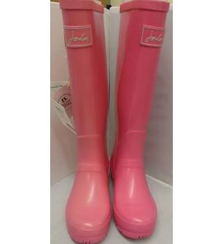 BNIB Joules, size 3 pink wellies