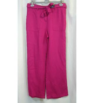 M&S Marks & Spencer - Size: 12 short petite - Pink - Trousers