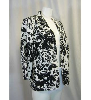 EWM - Size: 20 - White / Black - Smart jacket / coat