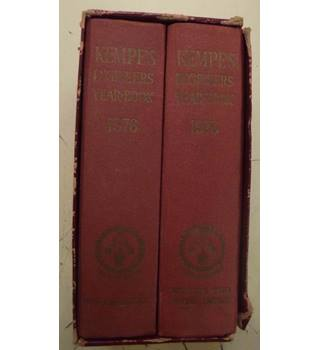 Kempe's Engineers Year-Book for 1976: Two-volume set in slipcase