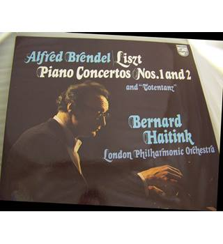 Piano Concertos 1 & 2 / Totentanz - Liszt (determined that soloist & orch. play equal parts - 6500 374)