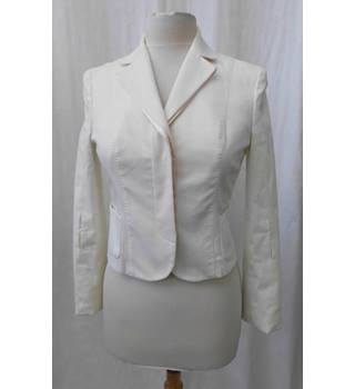 Alessandro Dell'Acqua - Size: 8 - Cream / ivory - Smart jacket