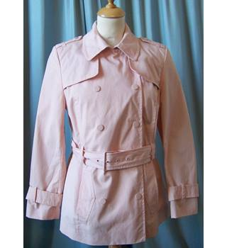 NWOT M&S Marks & Spencer - Size: 10 Petite - Pink - Coat