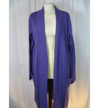 Marisota - Size 10 - Long Purple Cardigan