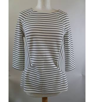 Unbranded size 10 Striped Black & White Top