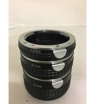Extension tube set: 13mm 21mm 31mm
