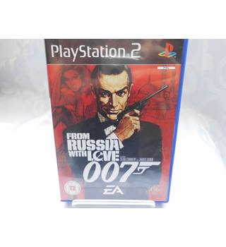 James Bond 007 From Russia With Love PS2
