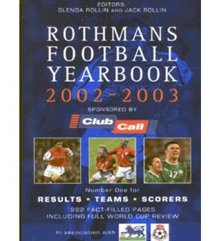 Rothmans football yearbook, 2002-2003
