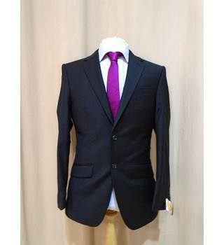 "M&S ""ALFRED BROWN"" - Size: 36/M - Charcoal Black - Single breasted suit jacket - NEW"