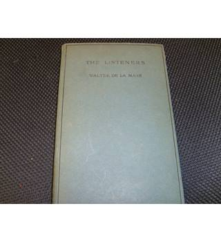 The Listeners and Other Poems by Walter De La Mare 1926 Constable 12th impression 51 poems