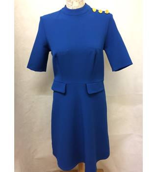 NWOT M&S Collection Size 10 Royal Blue Knee length dress