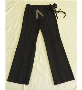 NWOT - M&S Limited Collection Size 10 L - Black Trousers