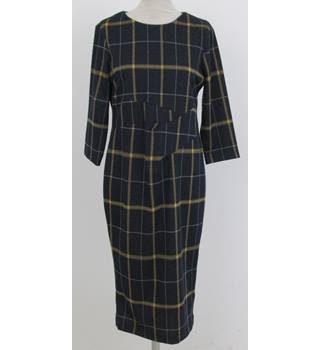 NWOT M&S Collection Size: 12 -Navy checked dress