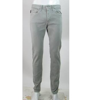 "Jack & Jones  - Size: 32"" - Grey - Slim Fit Jeans"