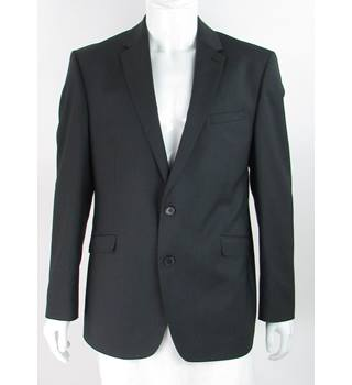 "BNWOT - M&S Marks & Spencer - Size: 44"" - Grey - Single breasted wool mix suit jacket"