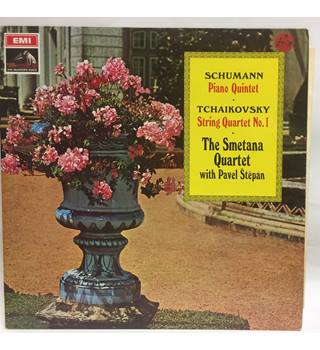 Schumann / Tchaikovsky - EXCELLENT - The Smetana Quartet, Pavel Stepan - ASD 2386