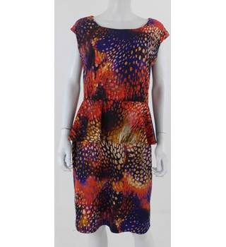 Ronni Nicole Size: 20 Multi-coloured Abstract Print Dress