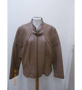 M&S Marks & Spencer - Size: 18 - Brown - Casual jacket / coat
