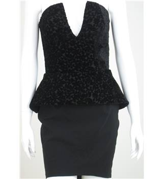 Shwopped by Tulisa: BNWT Lipsy size: 10 black strapless dress