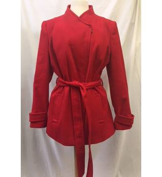 Red Zipped Jacket from BHS, Size 18
