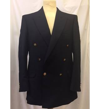 Men's Navy Blue Blazer from Jaeger, Size 50L