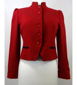 Cassidy - Size: 8 - Ruby Red - Smart Jacket