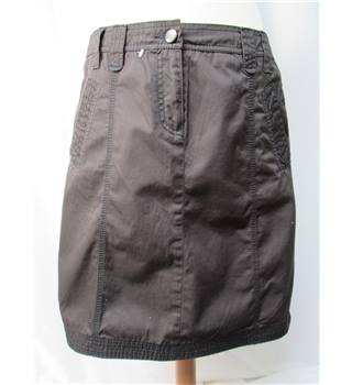 NWOT Esprit - Size: 10 - brown denim - mini skirt