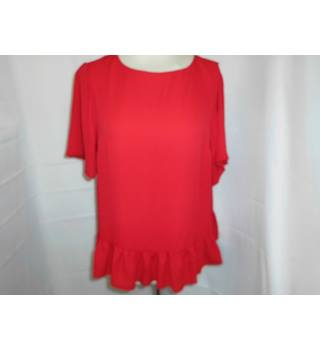 LIGHTWEIGHT BLOUSE ASOS - Size: 10 - Red - Blouse