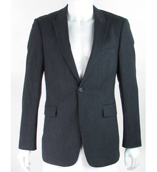 "Reiss - Size: 38"" - Navy Blue - 100% Wool - Single breasted suit jacket"