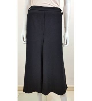 M&S Collection Size 18 Black Cropped Trousers