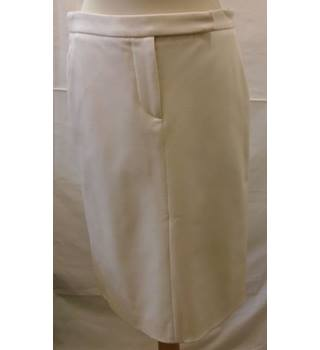 Tommy Hilfiger - Size L - Cream - Skirt Tommy Hilfiger - Size: 4 - Cream / ivory - Knee length skirt