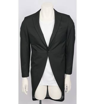 MARKS & SPENCER - Size: M - Black - Tail coat suit jacket
