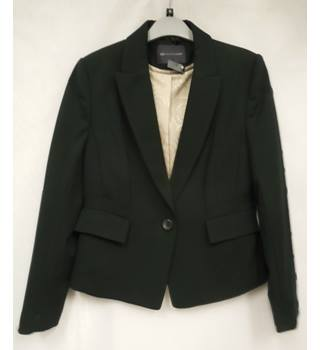 Women's Jacket M&S Marks & Spencer's Collection Petite M&S Marks & Spencer - Size: 8 - Black - Smart jacket / coat