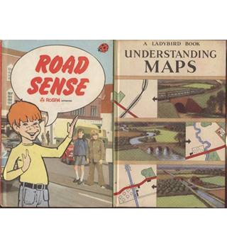Ladybird Book 2 titles Understanding Maps and Road Sense