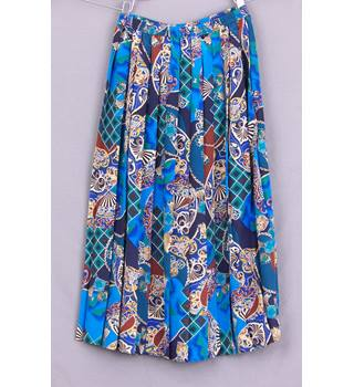 Eastex - Size: 12 - Multi-coloured - A-line skirt
