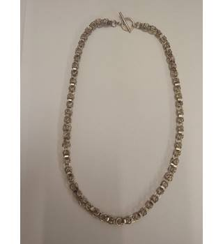 Silver necklace Unbranded - Size: Medium - Metallics - Necklace