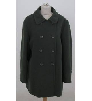 Isle - Size: 18 - Sage Green Double-Breasted jacket