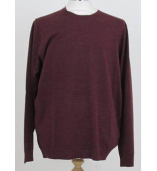 NWOT M&S Collection Size: M Dark Raspberry Coloured Long Sleeve Jumper