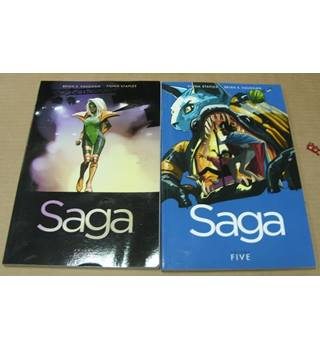 Saga : Volumes 4 and 5 (Brian K Vaughan / Fiona Staples)